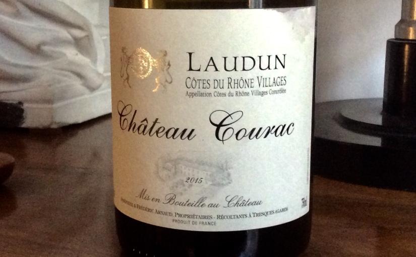 2015 Château Courac Côtes du Rhône VillagesLaudun