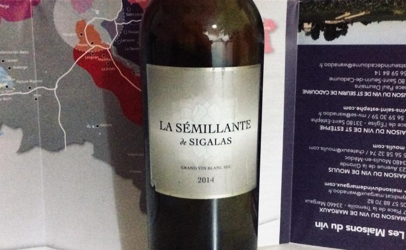 2014 Château Sigalas Rabaud La Semillante àSigalas