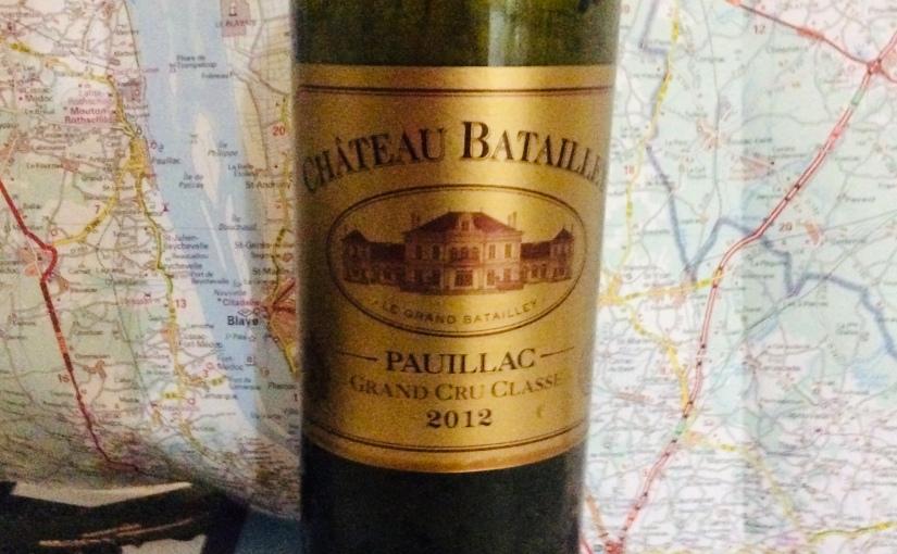 2012 Château BatailleyPauillac