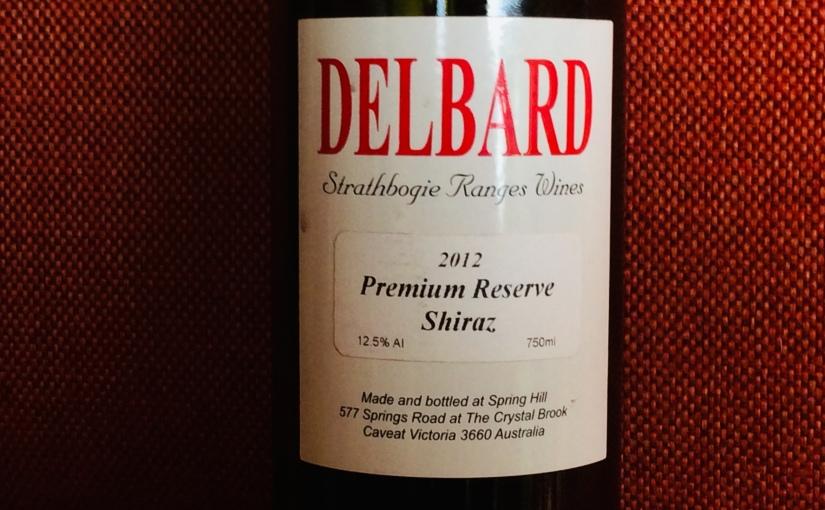 2012 Delbard Premium ReserveShiraz