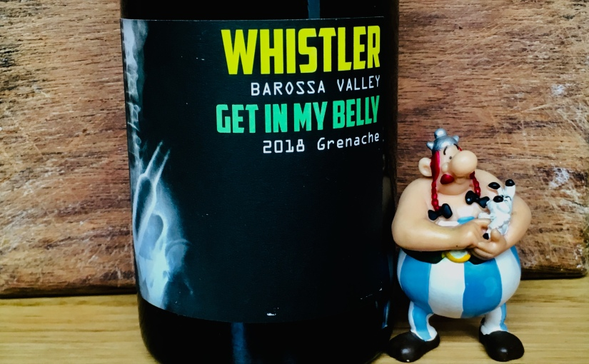 2018 Whistler 'Get In My Belly' Grenache