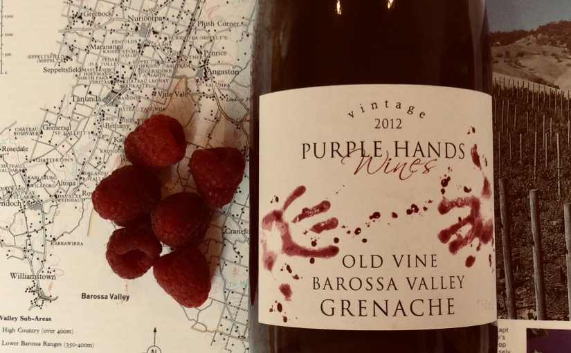 2012 Purple Hands Wines Old Vine Barossa Valley Grenache