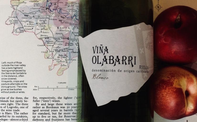 2016 Viña Olabarri RiojaBlanco