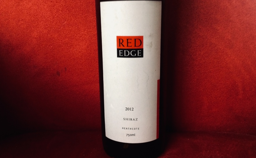 2012 Red Edge Heathcote Shiraz