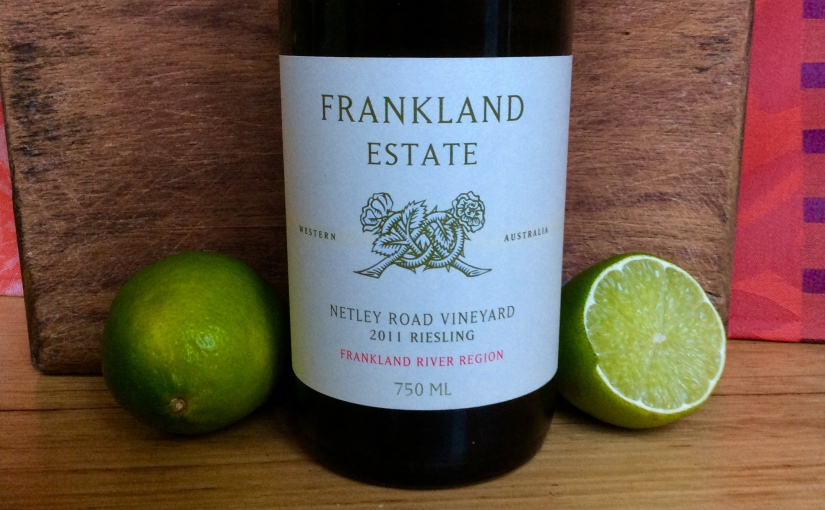 2011 Frankland Estate Netley Road Riesling