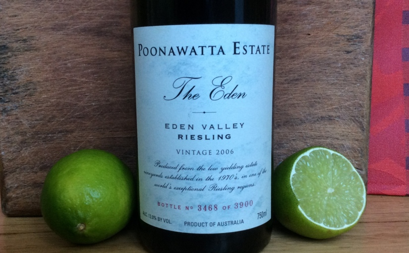 "2006 Poonawatta ""The Eden"" Eden Valley Riesling"