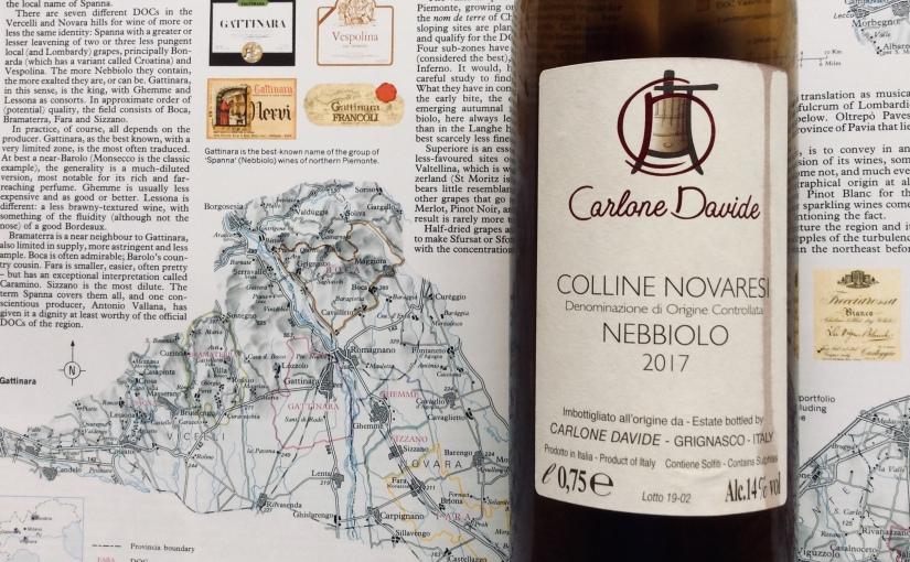 2017 Davide Carlone Colline NovaresiNebbiolo