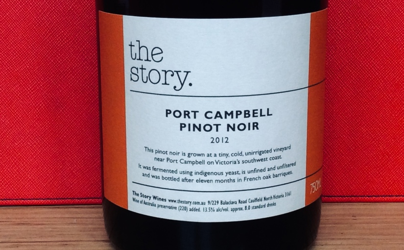 2012 The Story Port Campbell Pinot Noir
