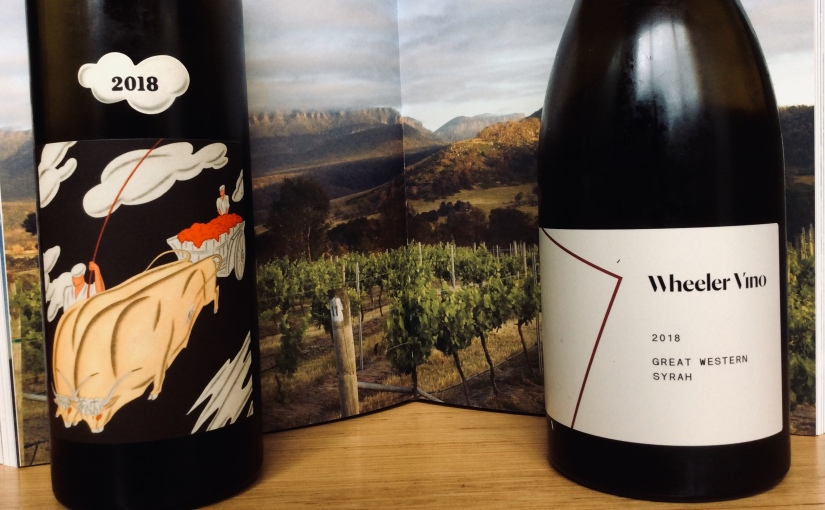 Odious Comparison, 2018 Wheeler Vino Great Western Shiraz and 2018 Reed Knife Edge Great Western Shiraz