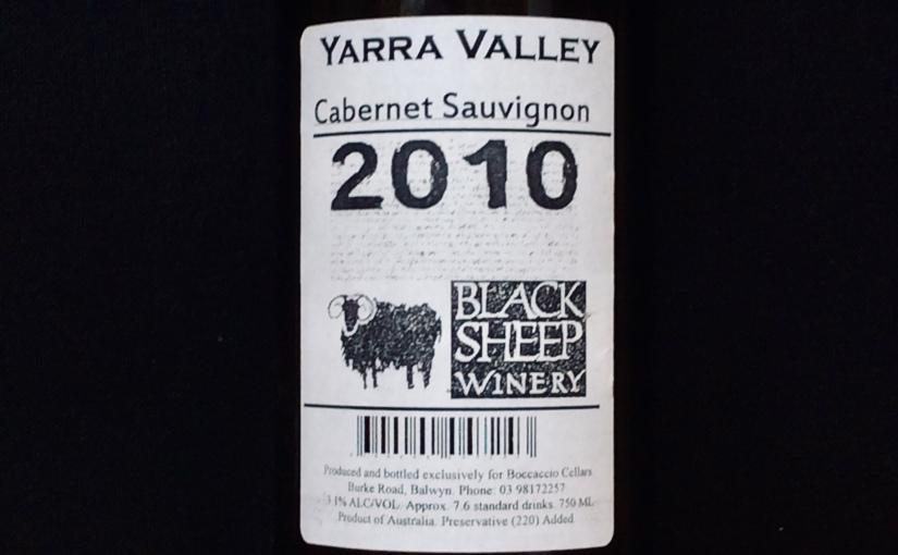 2010 Black Sheep Winery CabernetSauvignon