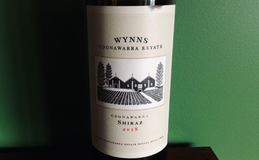 2018 Wynns CoonawarraShiraz