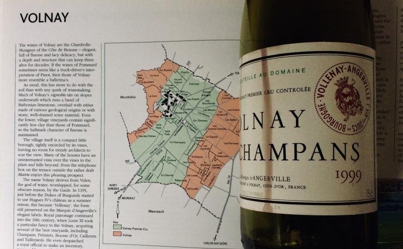 1999 Marquis d'Angerville Volnay Champans 1ercru
