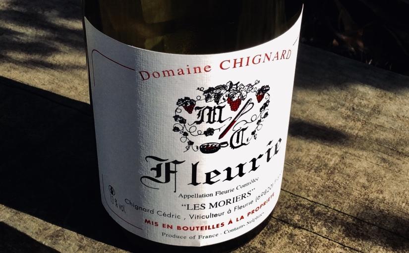 2018 Domaine Chignard Fleurie LesMoriers