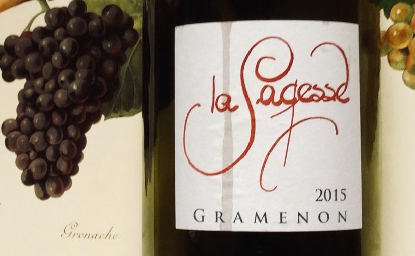 2015 Gramenon La Sagesse Côtes duRhône
