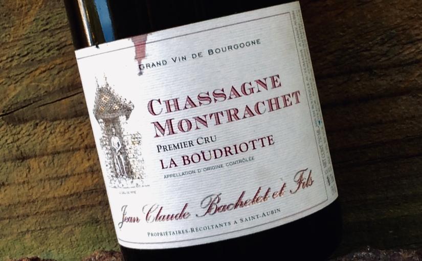 2005 Domaine Jean Claude Bachelet et Fils Chassagne Montrachet 1er Cru LaBoudriotte