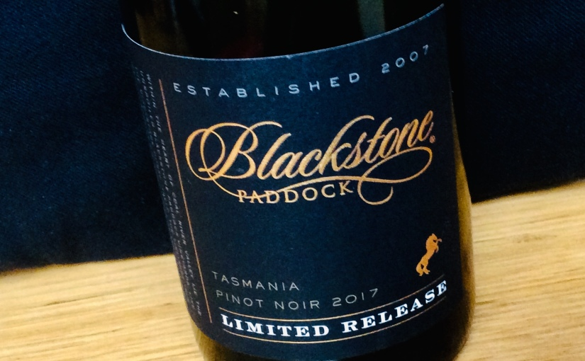 2017 Blackstone Paddock Limited Release PinotNoir