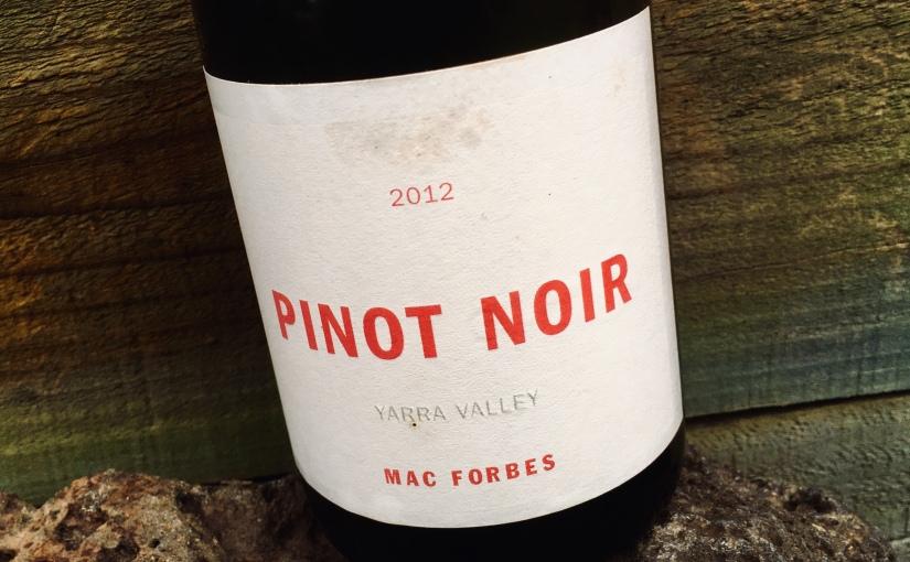 2012 Mac Forbes PinotNoir
