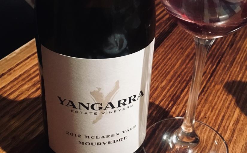 2012 Yangarra Mourvèdre