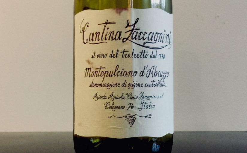 2017 Cantina Zaccagnini Montepulcianod'Abruzzo