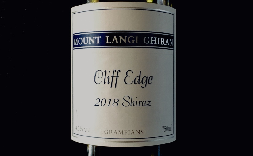 2018 Mount Langi Ghiran Cliff Edge Shiraz