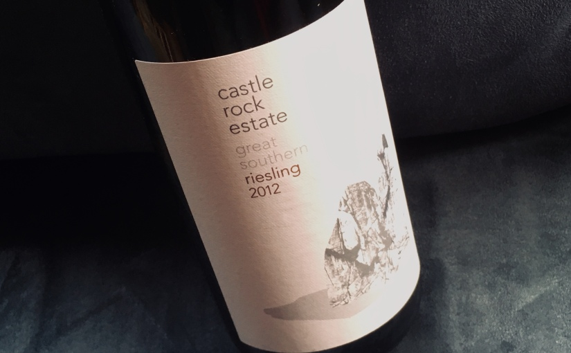 2012 Castle Rock Estate Riesling