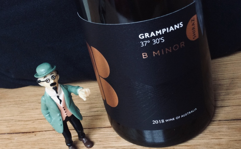 2018 B minor Grampians Shiraz