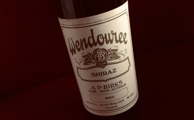 2004 Wendouree Shiraz