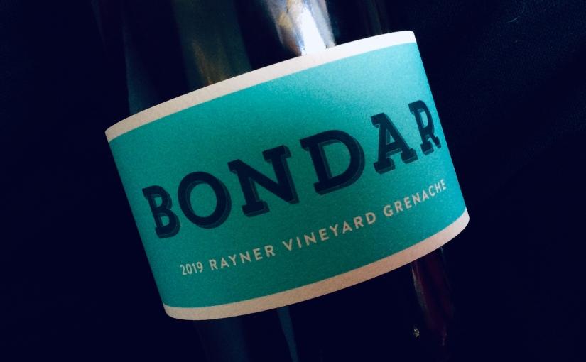 2019 Bondar Rayner VineyardGrenache