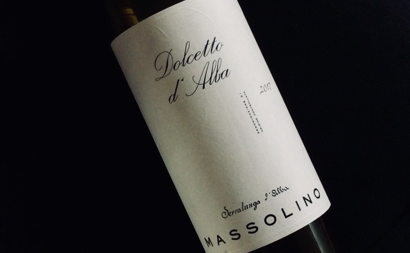 2017 Massolino Dolcettod'Alba