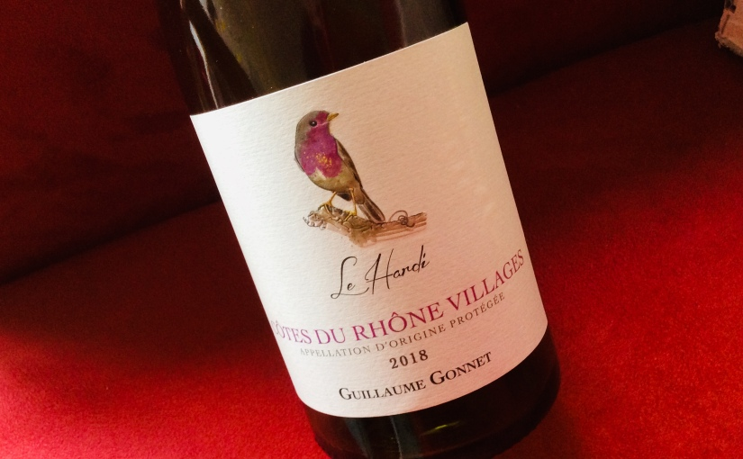 2018 Guillaume Gonnet Le Hardi Côtes du RhôneVillages