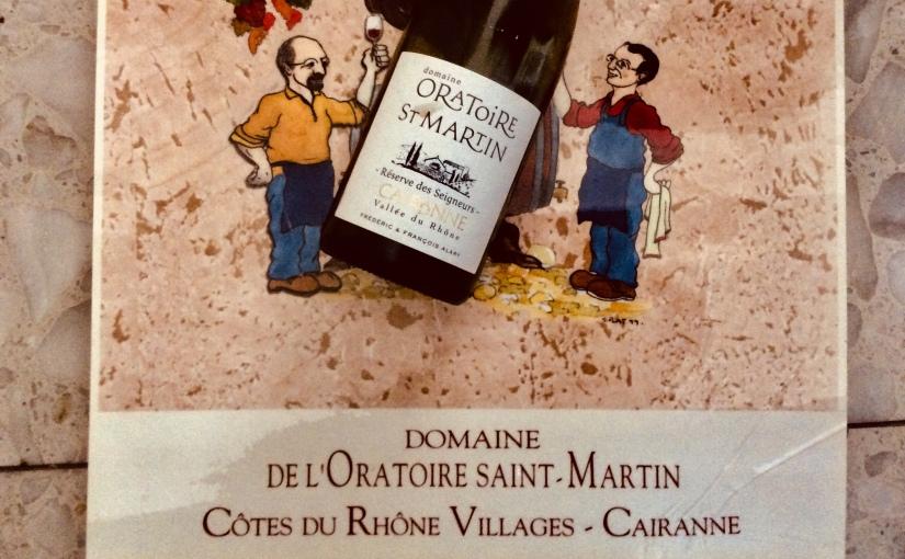 2015 Domaine de l'Oratoire de Saint Martin Cairanne Réserve desSeigneurs