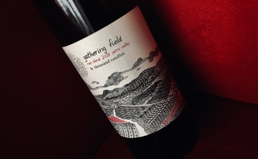 2018 Gathering Field Thousand Candles Vineyard Red Blend