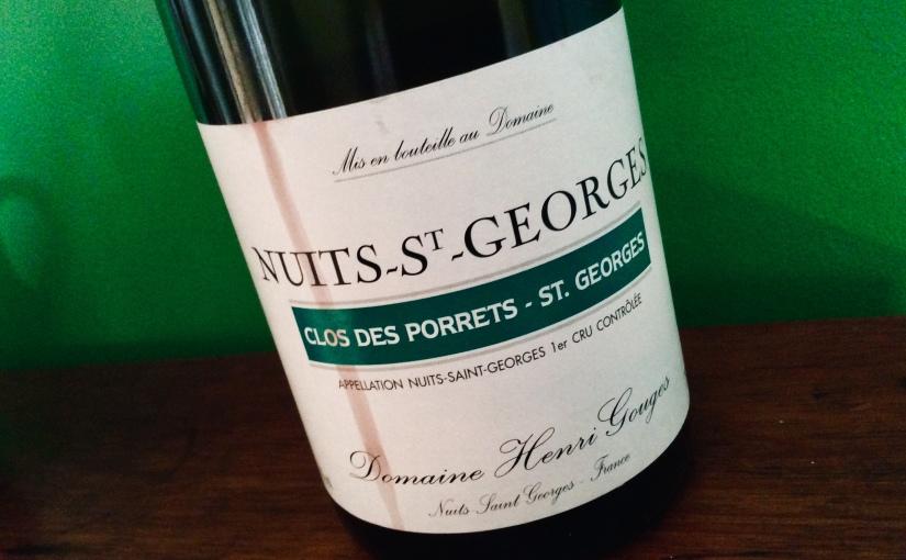 1999 Domaine Henri Gouges Nuits Saint Georges Clos des Porrets – St. Georges 1ercru