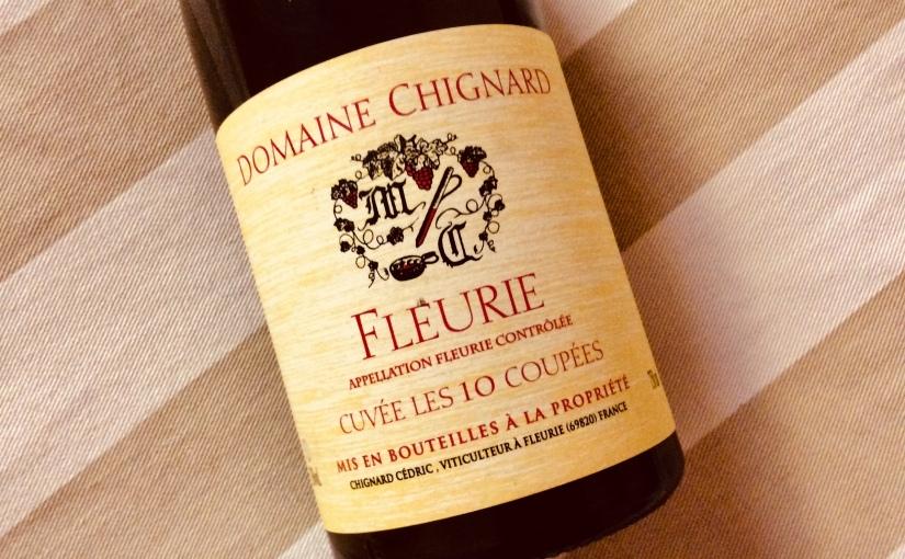 2016 Domaine Chignard Fleurie Cuvée Les 10Coupées