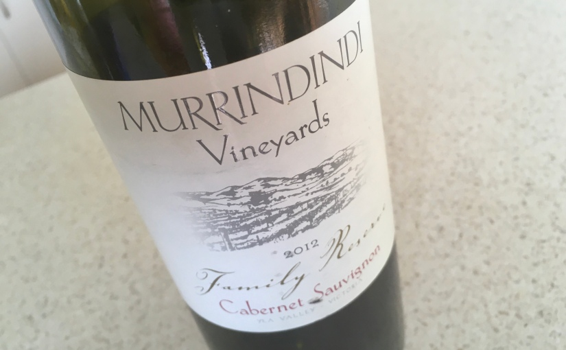 2012 Murrindindi Vineyards Cabernet Sauvignon
