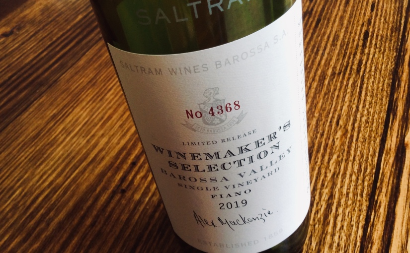 2019 Saltram Winemaker's Selection Barossa ValleyFiano