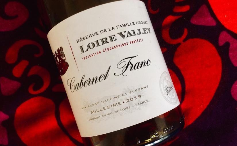 2019 Réserve de la Famille Drouet Loire Valley CabernetFranc