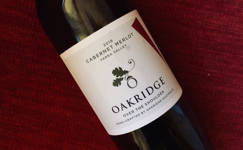 2019 Oakridge Over the Shoulder Cabernet Merlot
