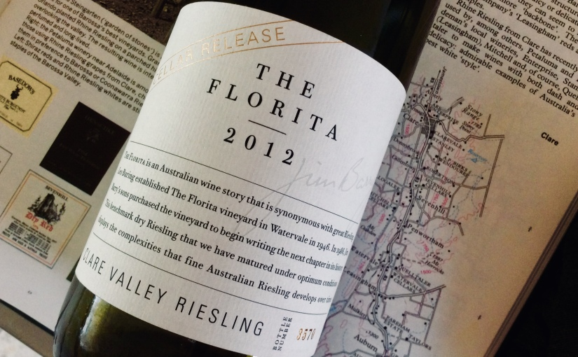 2012 Jim Barry The Florita Clare Valley Riesling