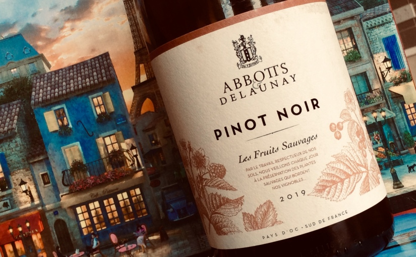 2019 Abbotts and Delaunay Pinot Noir Pays d'Oc