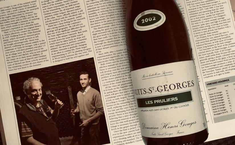 2002 Domaine Henri Gouges Nuits Saint Georges Les Pruliers 1ercru