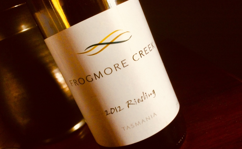 2012 Frogmore CreekRiesling