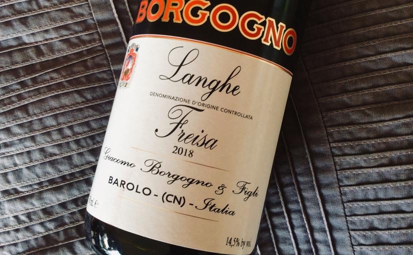 2018 Giacomo Borgogno & Figli LangheFreisa