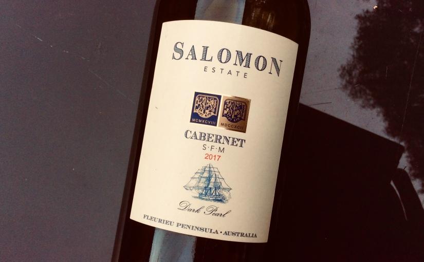 2017 Salomon Estate Dark Pearl Cabernet SFM FleurieuPeninsula