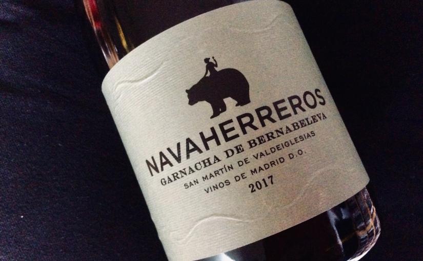 2017 Navaherreros Garnacha de Bernabeleva San Martín de Valdeiglesias Vinos de MadridDO