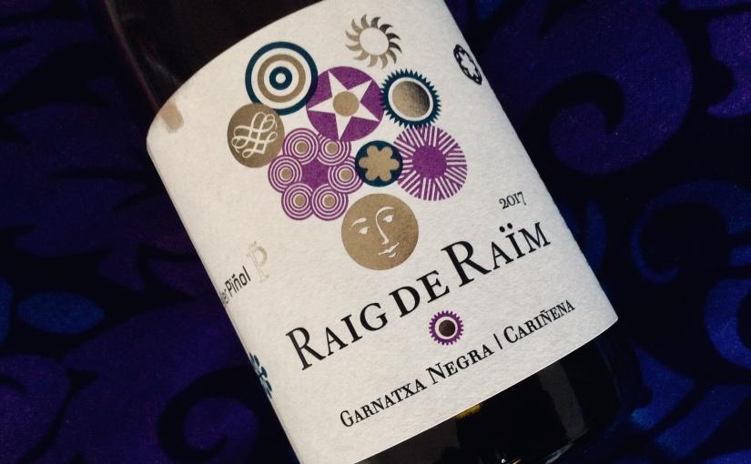 2017 Celler Piñol Raig de Raïm Garnatxa Cariñena Terra AltaDO