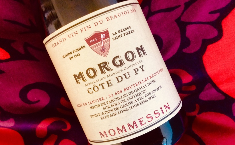 2018 Mommessin Morgon Côte duPy